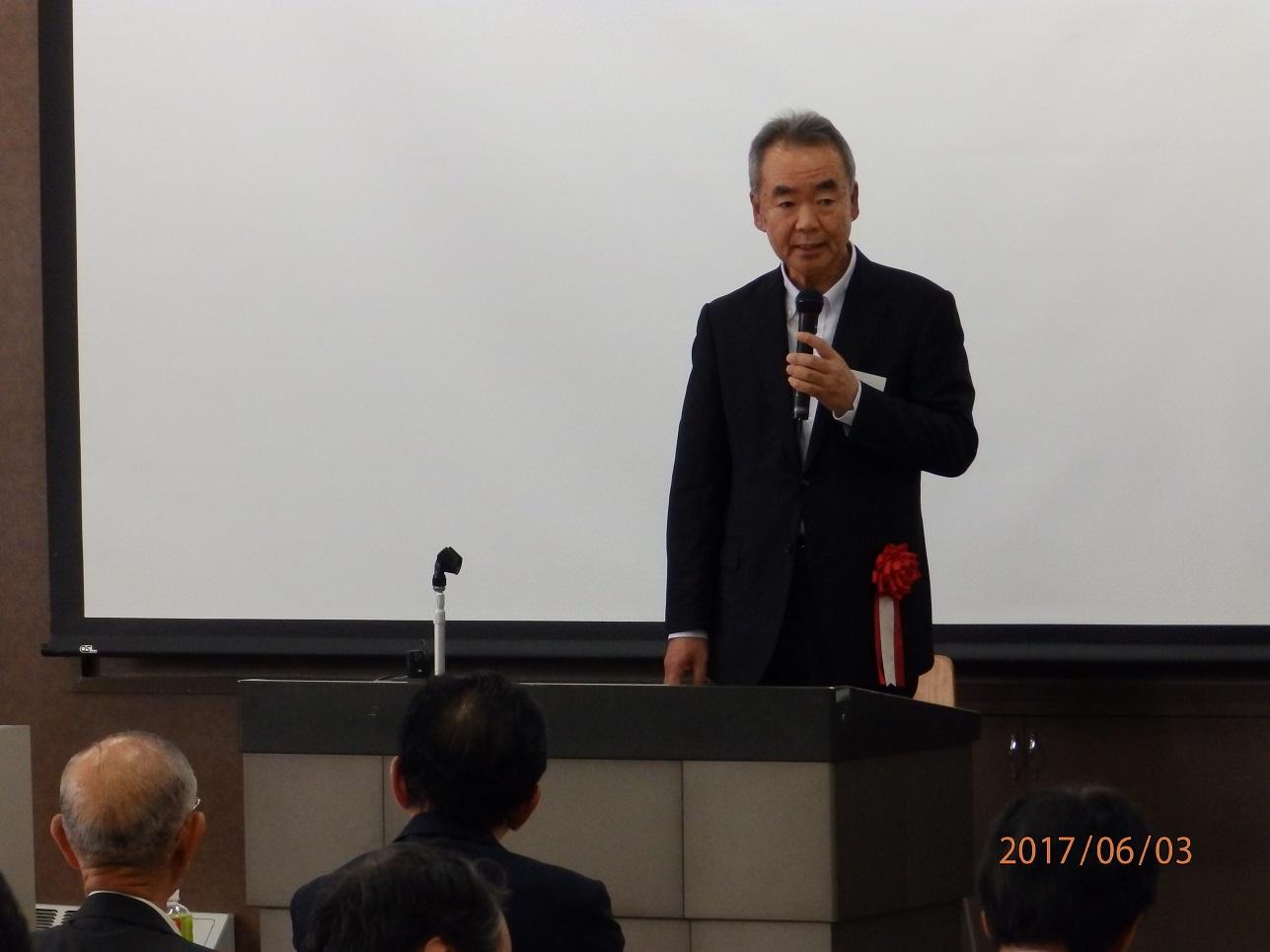 早川副学長挨拶